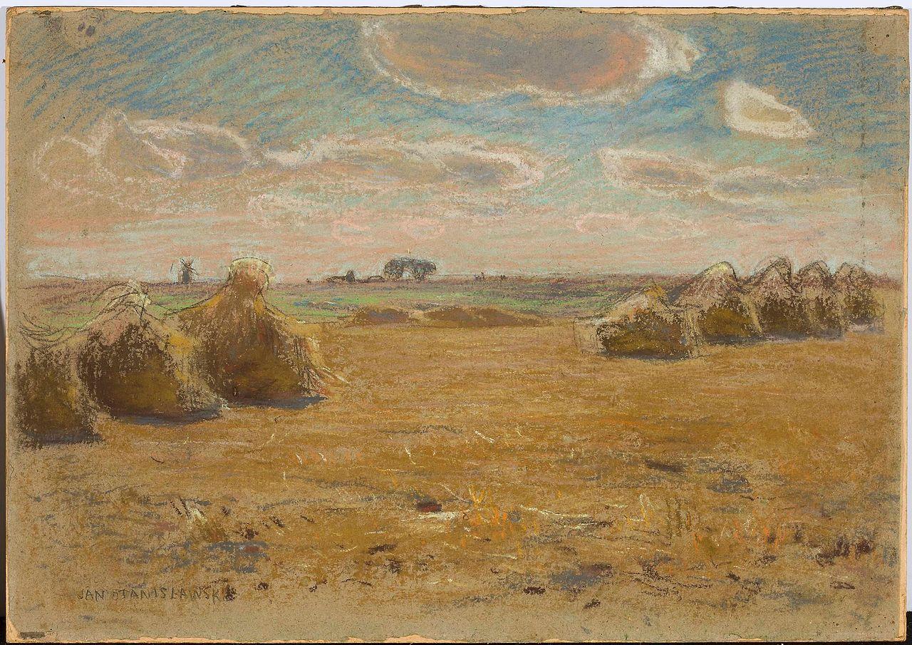 Jan Stanisławski - Summer landscape
