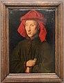 Jan van eyck, ritratto d'uomo, forse giovanni arnolfini, 1440 ca. 01.JPG