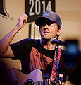 Jason Mraz & Raining Jane at NAMM 1-25-2014 -4.jpg