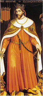 James I of Aragon 13th-century King of Aragon