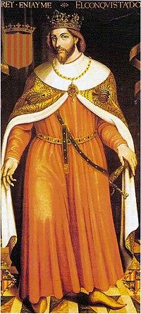 James I of Aragon.