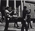 Jazz Funeral for New Orleans Marine Hospital 1981 Trombone Sousaphone A18314.jpg