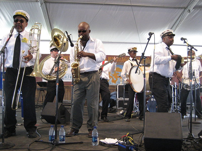 Photo By: http://commons.wikimedia.org/wiki/File:Jazzfest0755Treme7.jpg