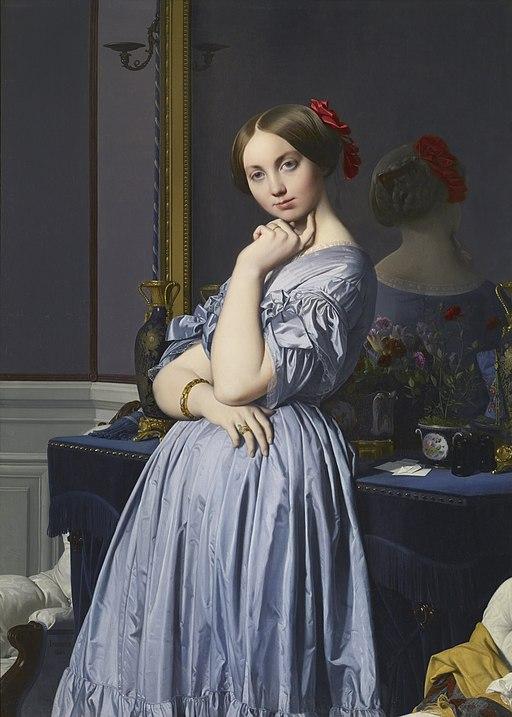 Jean-Auguste-Dominique Ingres - Comtesse d'Haussonville