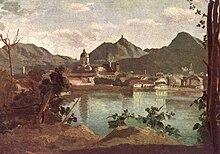 Como in un dipinto di Corot del 1834