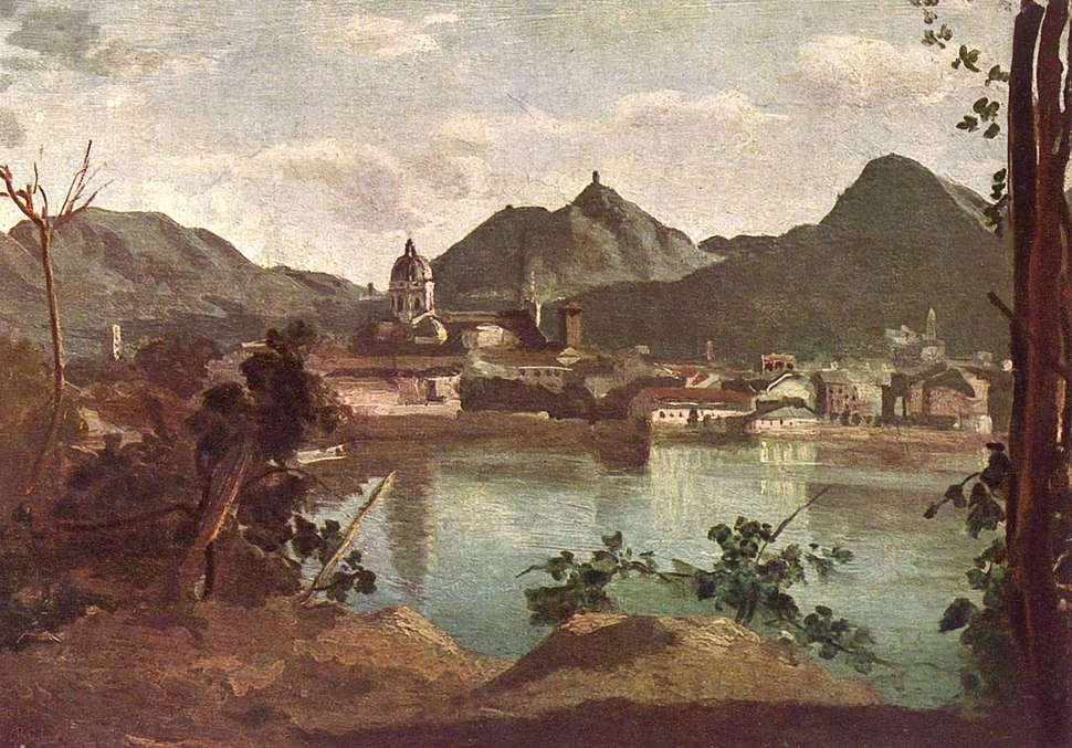 Jean-Baptiste-Camille Corot - Como and Lake Como