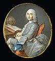 Jean-Marc Nattier - Miniature Portrait of César François Cassini de Thury - Google Art Project.jpg
