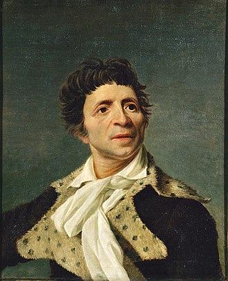 Jean-Paul Marat - Jean-Paul Marat by Joseph Boze, 1793,