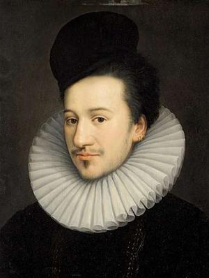 Jean Decourt - Portrait François-Hercule de Valois, duc d'Alençon c. 1576