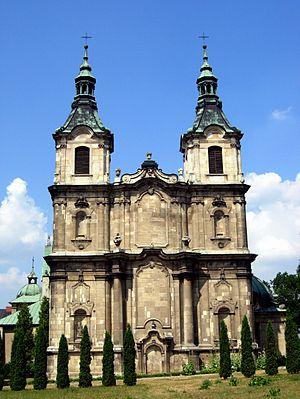 Jędrzejów - Blessed Wincenty Kadłubek Church