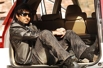 Jeet (actor) - Jeet in one of his photoshoots during his initial days as a model.