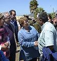 Jefa de Estado recorrió el borde costero de Coquimbo y conversó con afectados por el terremoto y tsunami (21307507959).jpg