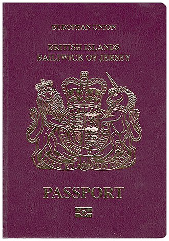 Terminology of the British Isles - A Jersey passport