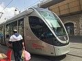 Jerusalem Light Rail tram at Machane Yehuda.jpg