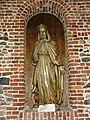 Jeumont (Nord, Fr) Église St.Martin, statue Melchisedech.JPG
