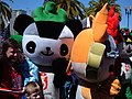 Jingjing & Yingying at 2008 Olympic Torch Relay in SF 1.JPG