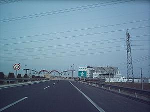 Jinji Expressway - Image: Jinji Expressway January 2005