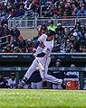 Joe Mauer - Minnesota Twins - Opening Day vs Seattle Mariners (41267770171).jpg