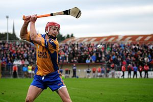 Joe Canning - Joe Canning playing for Portumna in 2013