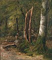 Johan Gørbitz - Study of Trees - NG.M.02467 - National Museum of Art, Architecture and Design.jpg