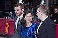 Johan Philip (Pilou) Asbæk, Pernille Fischer Christensen and Jesper Christensen (Berlin Film Festival 2010).jpg