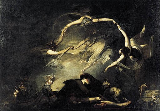 Johann Heinrich Füssli - The Shepherd's Dream - WGA8335