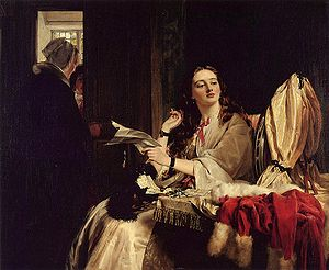 John Callcott Horsley - St. Valentine's Day by Horsley