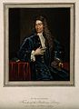 John Radcliffe. Coloured stipple engraving after M. Dahl aft Wellcome V0004867.jpg