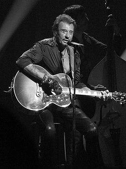 Johnny Hallyday à la guitare — Beacon Theater 2012