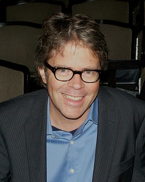 Jonathan Franzen - Franzen at the 2010 National Book Critics Circle awards