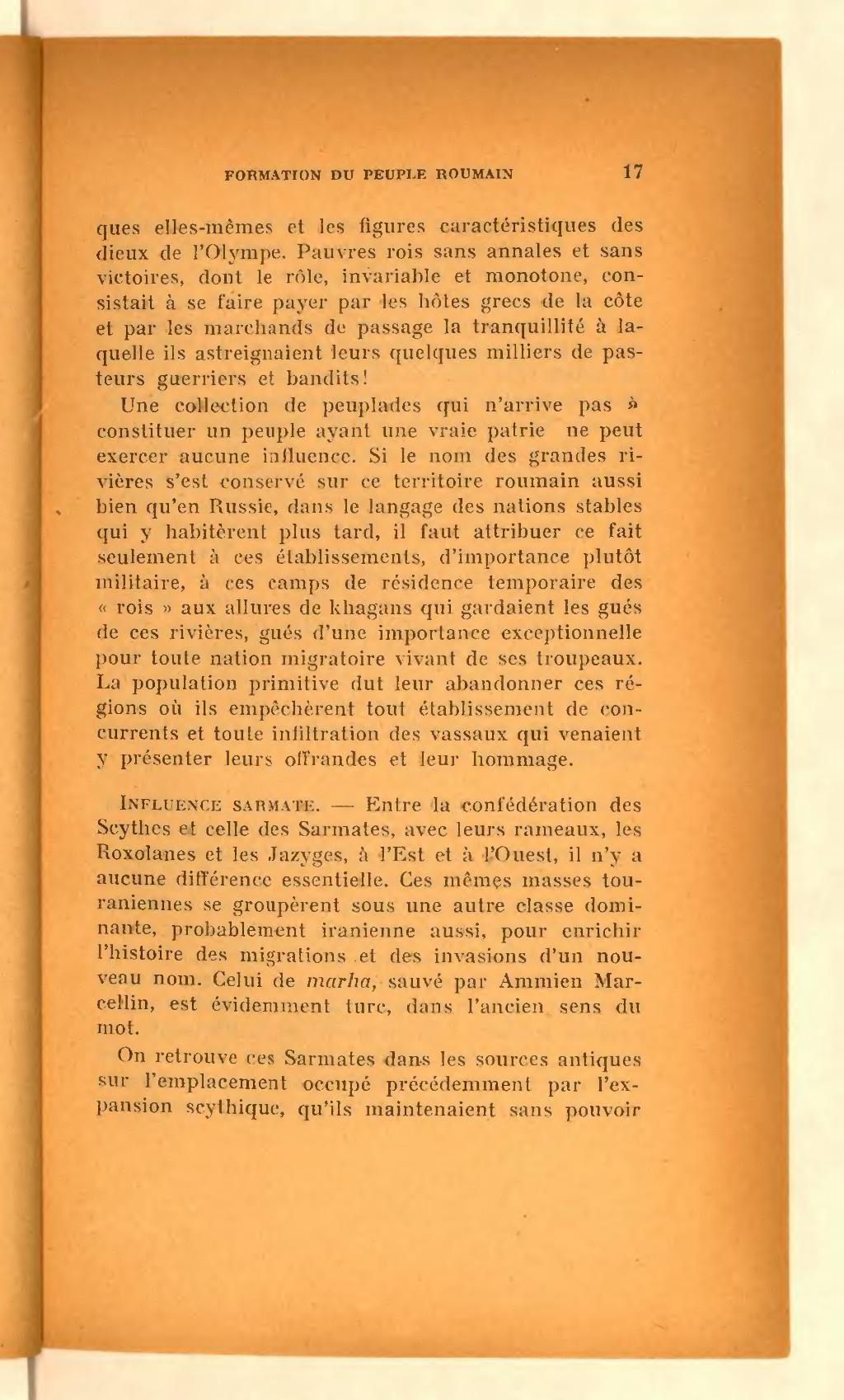 Page Jorga Histoire Des Roumains Et De Leur Civilisation 1920