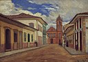 José Wasth Rodrigues - Trecho final da antiga Rua do Rosário, 1858, Acervo do Museu Paulista da USP.jpg