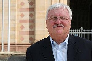 Jürgen Creutzmann - Jürgen Creutzmann in front of the Cathedral of Speyer