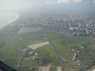 aerodrome in Mumbai, India. First airfield in India