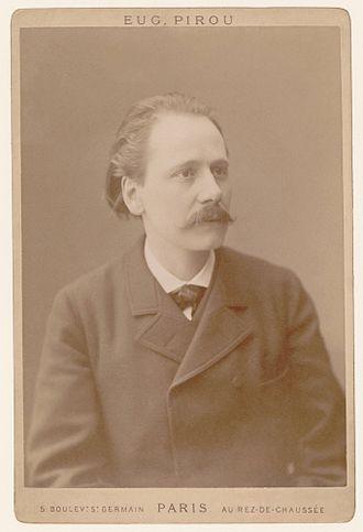 Jules Massenet - Massenet photographed by Eugène Pirou, 1895