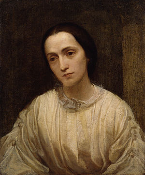 Julia Margaret Cameron - Painting of Julia Margaret Cameron by George Frederic Watts, c. 1850–1852