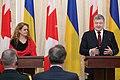Julie Payette with Petro Poroshenko in Ukraine - 2018 - (1516277010e).jpg