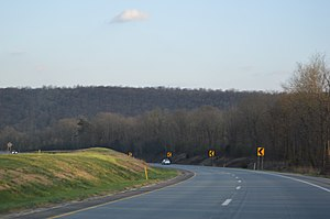 Howe Township, Perry County, Pennsylvania - Along U.S. Routes 22-322 east of Newport