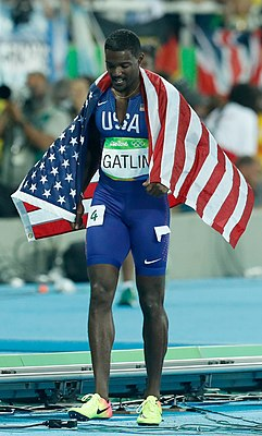 Justin Gatlin Rio 100m final 2016-cr.jpg