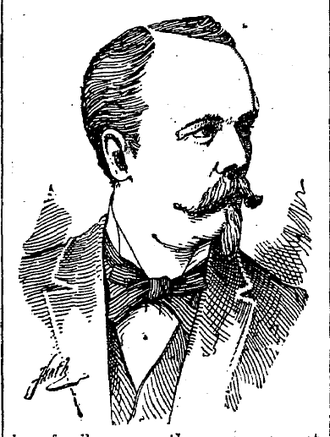 Klas August Linderfelt - K.A. Linderfelt from the May 5, 1892 edition of the Milwaukee Sentinel