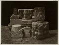 KITLV 28278 - Isidore van Kinsbergen - Stone fragments, dating from 1348, of the temple Panataran, Kediri - 1867-02-1867-06.tif