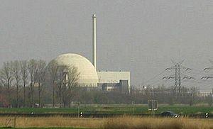 Unterweser Nuclear Power Plant - Image: KKW Unterweser