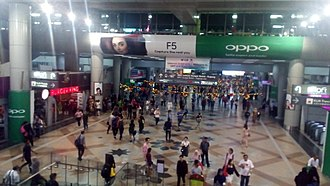 Kuala Lumpur Sentral station - KL Sentral station councorse.