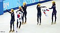 KOCIS Korea ShortTrack Ladies 3000m Gold Sochi 34 (12629495683).jpg