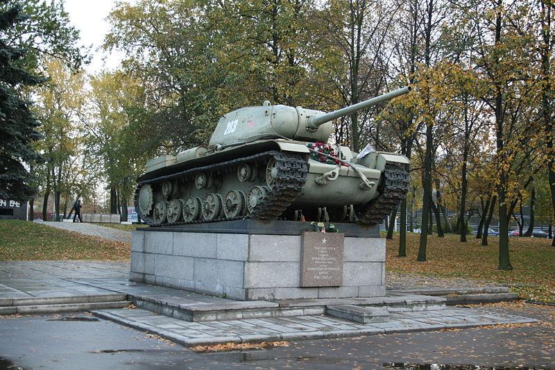 File:KV-85 in Avtovo.jpg