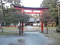 Kamo-jinja Shintô Shrine - Red torii.jpg
