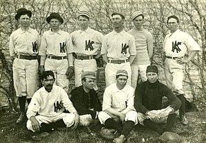 Kansas State Wildcats baseball - Kansas State baseball team, 1897