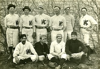 Kansas State Wildcats - Kansas State baseball team, 1897