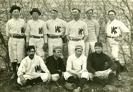 Kansas State baseball team, 1897