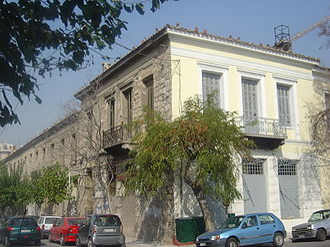 Christian Hansen (architect) - The Kantakouzinos building in Athens
